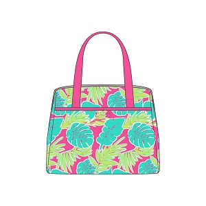 Monogrammed Lunch Tote - Totally Tropics