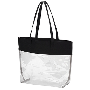 Monogrammed Clear Stadium Tote - More Colors Available