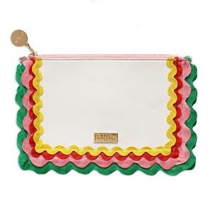 Monogrammed Clutch - Making Waves