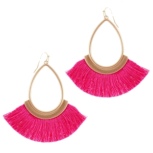 Fringe Earrings - 4 Colors Available