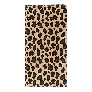 Monogrammed Beach Towel (Wildside Leopard)