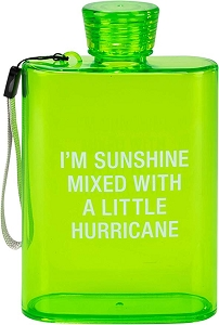 Acrylic Flask - Sunshine