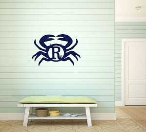 Wooden Crab Monogram