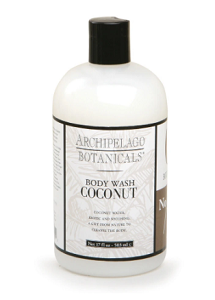 Archipelago Botanicals 17oz Body Wash, Coconut