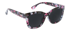 Peepers Sunglass Readers - Center Stage - Pink Quartz