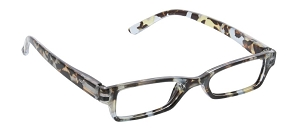 Peepers Eclipse Blue Light Readers - Blue Quartz