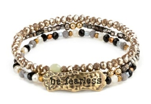 She Inspires Bracelet - Be Fearless