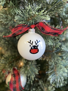 Reindeer Mask Ornament