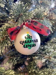 Oh Quaran Tree Ornament