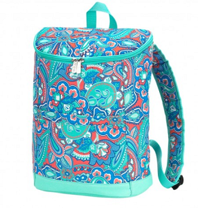 Monogrammed Backpack Cooler - Island Bliss