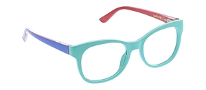 Peepers Light Bright Blue Light Readers - Aqua
