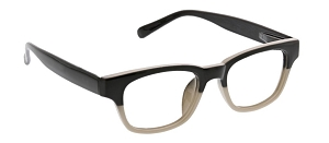 Peepers Layover Blue Light Readers - Black/Taupe