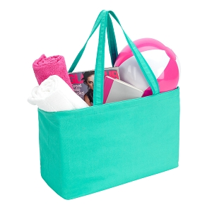 Monogrammed Solid Color Ultimate Tote - 4 colors to choose from