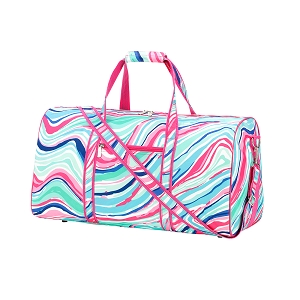 Monogrammed Duffle Bag - Marble-ous