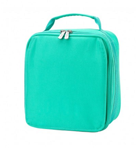 Monogrammed Lunch Box - Mint