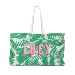 Palm Leaves Travel Tote (More colors available!)