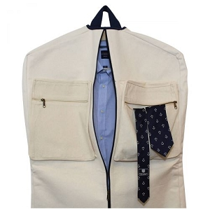 Garment Bag with Accent Color - 4 colors available