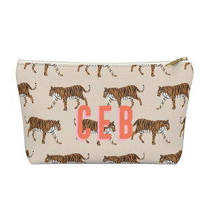 Tiger Zip Pouch (More options available)