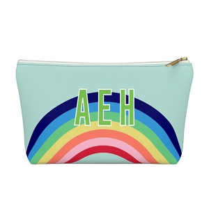Rainbow Zip Pouch (More options available)