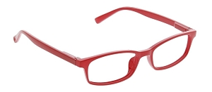 Peepers Paragon Blue Light Readers - Red