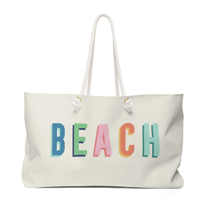 Beach Travel Tote