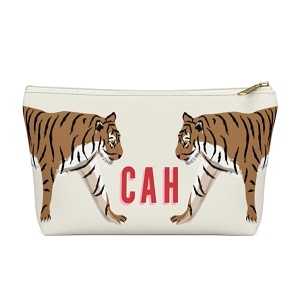 Tiger Duo Zip Pouch (More options available)