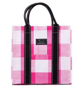 SCOUT Totes-Ma-Goat - Pink Check