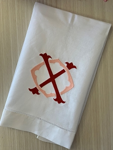 XO Linen Hemstitched Guest Towel