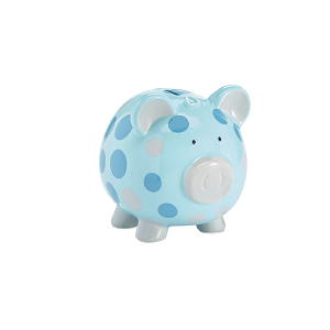 Piggy Bank - Blue