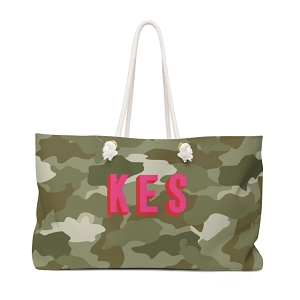 Camo Travel Tote (More colors available!)