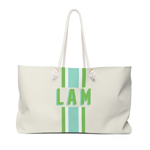 Stripe Travel Tote (More colors available!)