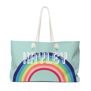 Rainbow Travel Tote (More colors available!)