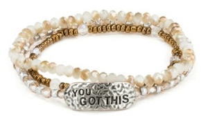 She Inspires Bracelet - You Got This