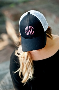 Monogrammed Trucker Hat - 6 Colors Available