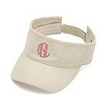 Monogrammed Visor, 8 Colors Available