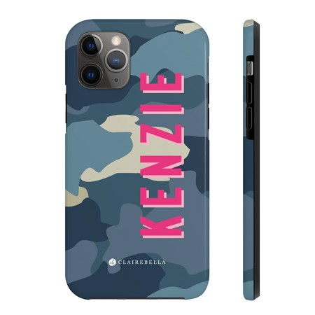 iPhone 11 Blue Camo